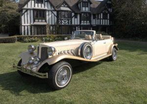 Vintage Wedding car Hire Bromsgrove